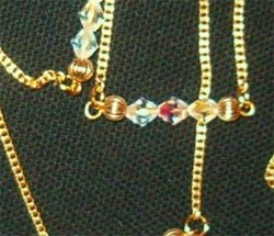14 Karat Gold hand designed Belly Chain or Necklace