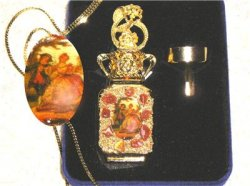 Adrian English Romance Mini Perfume Bottle Pendant