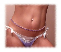 SWEET Embroidered LOW cut Ribbion Heart Panty