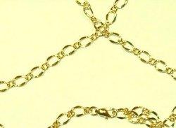 Diamond-Cut Spring Sexy Jewelry Body Belly Chain [Figure ...