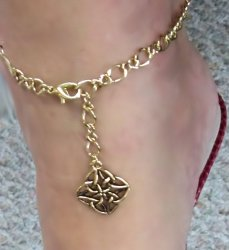 Celtic GOLD gep Hand designed Celtic Adjustable made in USA