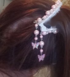 Banan Clips for Brides or Dancers 6 inch strong hand designed US