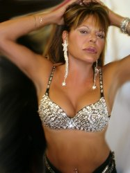 Quality Sequin Stripper Clubwear Bra SEXY Hands Down