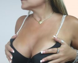 NEW Sexy Sleek Silver Plated Chain Bra Straps