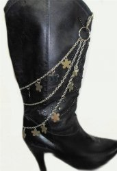Biker Hot Cowboy Sexy Unisex Boot Chains 17inches Spikes or Snow