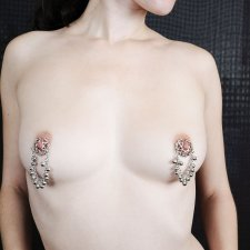 Bells Miss Slave Girl Nipple clips Hear her Coming
