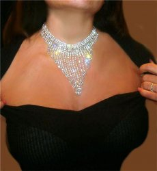 Austrain crystal Collar Rhinestone necklace