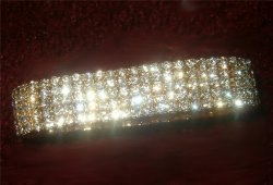 Submissive Cuff 5 Row Bracelet Stunning Top quality