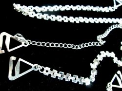 Hot Bra Chains Straps Choose Your Style Fashionable Silver sp